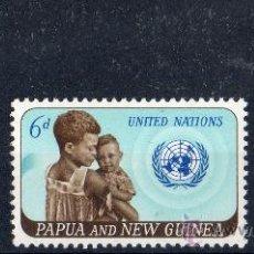 Sellos: PAPUA NUEVA GUINEA AÑO 1965 YV 80/82*** AÑO DE LA COOPERACIÓN INTERNACIONAL XX ANVº NACIONES UNIDAS. Lote 35020237