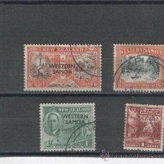 Stamps - SELLOS ANTIGUOS SAMOA WESTERN SAMOA NUEVA ZELANDA CON SOBRECARGA PARA SAMOA - 35333734