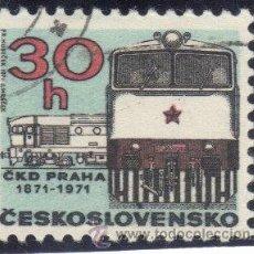 Sellos: CHECOSLOVAQUIA - 1971 - YVERT - 1866 ( USADO ). Lote 38642464