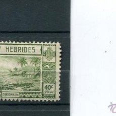 Sellos - SELLOS NUEVAS HEBRIDAS NEW ANTIGUOS PAISES EXOTICOS AÑO 1938 - 41428359