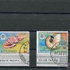 Stamps - SELLOS PAISES EXOTICOS AITUTAKI ISLAS COOK ISLANDS SOUTH PACIFIC ESFINGE REINA - 41473754