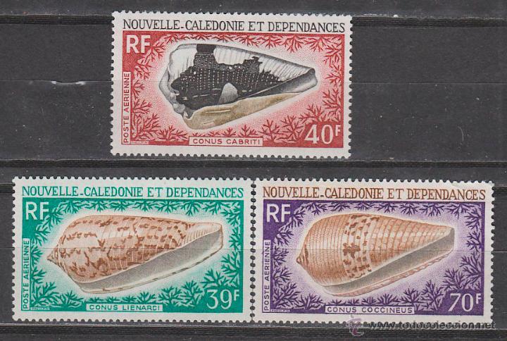 NUIEVA CALEDONIA RF IVERT AEREO 98/100, CONCHAS, NUEVO *** (Sellos - Extranjero - Oceanía - Otros paises)