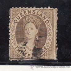 Sellos - queensland 14 dientes romo inferor usada, - 43481798