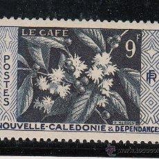 Sellos: NUEVA CALEDONIA 286 SIN CHARNELA, FLORES, EL CAFE, . Lote 43538192