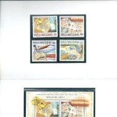 Sellos: PAPUA Y NUEVA GUINEA - CENTENARIO DEL SERVICIO POSTAL 1885/1985. Lote 44857023