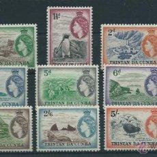 Sellos: COLONIAS INGLESAS-TRISTAN DA CUNHA YVERT Nº 14/25*. Lote 45283473