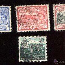 Sellos: SELLO, LOTE SELLOS UTILIZADOS, TRINIDAD TOBAGO Y ANGUILLA - (T-A). Lote 49531668