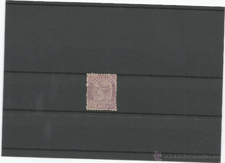 1879-80 - EFIGIE REINA VICTORIA - QUEENSLAND (Sellos - Extranjero - Oceanía - Otros paises)