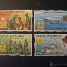 Sellos: PAPUA NUEVA GUINEA, Nº YVERT 408/1*** AÑO 1981.FUERZAS DE DEFENSA. Lote 51211224
