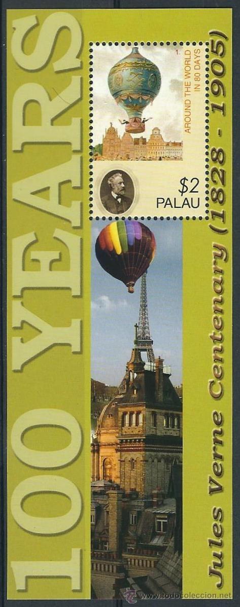 PALAU 2005 100 AÑOS CENTENARIO JULIO VERNE (Sellos - Extranjero - Oceanía - Otros paises)