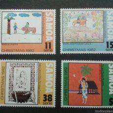 Sellos: SELLOS DE SAMOA. DIBUJOS INFANTILES. YVERT 521/4. SERIE COMPLETA NUEVA SIN CHARNELA.. Lote 53111401
