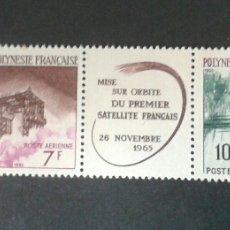 Sellos: SELLOS DE POLINESIA FRANCESA. YVERT A 17/8. SERIE COMPLETA NUEVA SIN CHARNELA.. Lote 53154975