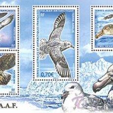 Sellos - TAAF 2016 - Birds souvenir sheet mnh - 53640926