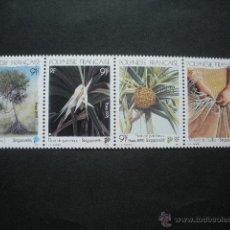 Sellos: POLINESIA 1995 IVERT 489/92 *** FLORA INDIGENA - EXPOSICIÓN FILATÉLICA INTERNACIONAL EN SINGAPUR. Lote 54104788