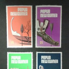 SELLOS DE PAPUA NUEVA GUINEA. YVERT 363/6. SERIE COMPLETA NUEVA SIN CHARNELA.