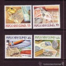 Sellos: PAPUA Y NUEVA GUINEA 1985 IVERT 503/6 *** CENTENARIO DEL CORREO . Lote 55670949