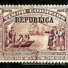 Sellos: TIMOR [COLONIA PORTUGUESA] 1913- YV 130 AFI 128 *SIN/GOMA. Lote 56700989