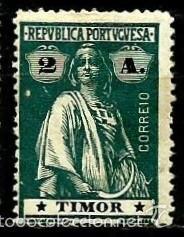 TIMOR [COLONIA PORTUGUESA] 1914- YV 166(A) AFI 164 (D-15) **CON/CH (Sellos - Extranjero - Oceanía - Otros paises)