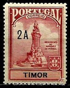 TIMOR [COLONIA PORTUGUESA] 1925- YV 208 AFI IP25 (IMPUESTO POSTAL)*** NUEVO (Sellos - Extranjero - Oceanía - Otros paises)