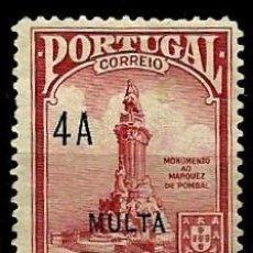 Sellos: TIMOR [COLONIA PORTUGUESA] 1925- YV T33 AFI IPP3 (TAXA) *SIN/GOMA. Lote 56701534