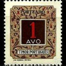 Sellos: TIMOR [COLONIA PORTUGUESA] 1952- YV T34 AFI P31 (TAXA) **CON/CH. Lote 56701565