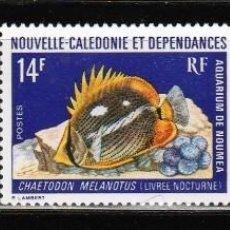 Sellos: NUEVA CALEDONIA Y DEPENDENCIAS . 1973 (16-392) SERIE: PECES. **.MNH. Lote 57114819