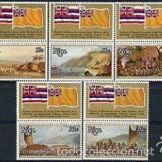 Sellos: NIUE 1978 IVERT 200/4 *** BICENTENARIO DEL DESCUBRIMIENTO DE HAWAI POR EL CAPITAN COOK - BARCOS. Lote 58014769