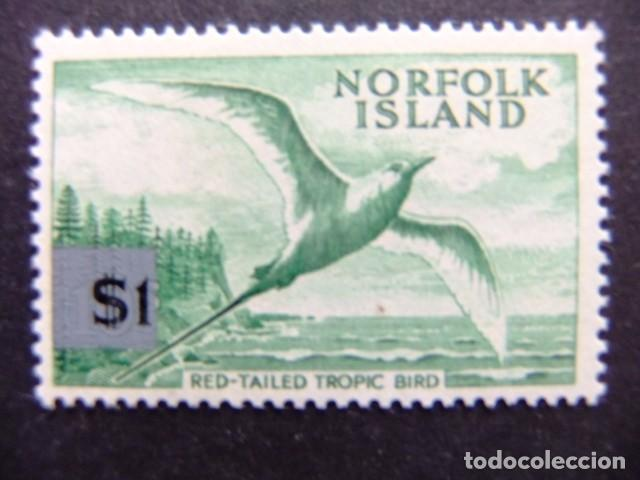 NORFOLK 1966 PHAETON À BRINS ROUGES YVERT Nº 73 ** MNH SG N º 71 ** MNH (Sellos - Extranjero - Oceanía - Otros paises)