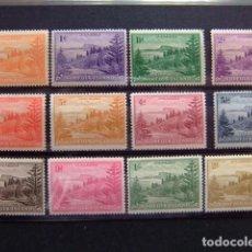 Sellos: NORFOLK 1947 SERIE CORRIENTE (PAISAJES BAIE DE BALL) YVERT Nº 1 / 12 * MH SG N º 1 / 12 * MH. Lote 67776101