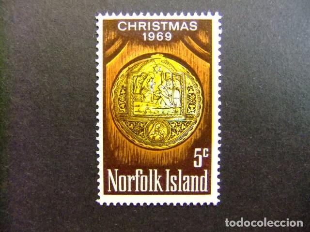 NORFOLK 1969 NAVIDAD NOËL CHRISTMAS YVERT Nº 104 ** MNH SG N º 104 ** MNH (Sellos - Extranjero - Oceanía - Otros paises)