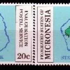 Sellos: ESTADOS FEDERADOS DE MICRONESIA. 1984. SERIE: INAUGURACION INDEPENDENCIA POSTAL ***,MNH. Lote 68837997