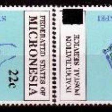Sellos: ESTADOS FEDERADOS DE MICRONESIA. 1986. SERIE: INAUGURACION INDEPENDENCIA POSTAL .SOBRECARGA ***,MNH. Lote 68888277
