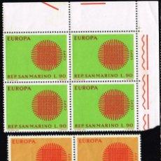 Sellos: 1970 SAN MARINO TEMA EUROPA MNH**. Lote 69002701