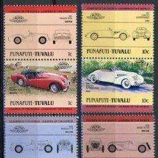 Sellos: TUVALU - FUNAFUTI 1984 IVERT 2 *** AUTOMOVILES ANTIGUOS 1ª SERIE - COCHES . Lote 71949055