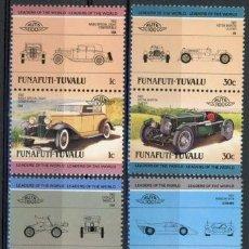 Sellos: TUVALU - FUNAFUTI 1984 IVERT 4 *** AUTOMOVILES ANTIGUOS 2ª SERIE - COCHES . Lote 71949199