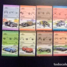 Sellos: TUVALU 1985 AUTOMOVILES COCHES AUTOS YVERT &TELLIER Nº 339 / 354 ** SG Nº 356 / 371 MNH. Lote 74362051