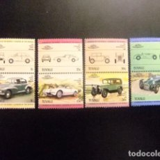 Sellos: TUVALU 1984 AUTOMOVILES COCHES AUTOS YVERT &TELLIER Nº 279 / 286 ** SG Nº 293 / 300 MNH. Lote 74362263