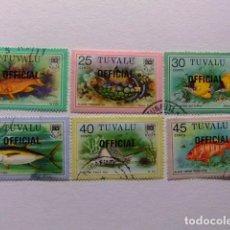 Sellos: TUVALU 1981 SELLOS DE SERVICIO YVERT &TELLIER Nº 9 / 14 º SG Nº FU. Lote 74362635
