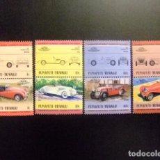 Sellos: FUNAFUTI TUVALU 1984 AUTOMOVILES 1ª SERIE COCHES YVERT &TELLIER Nº 2 SG Nº MNH. Lote 74365747