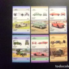Sellos: NANUMEA TUVALU 1986 COCHES AUTOMOBILES VOITURES 3ª SERIE SG Nº 12 MNH. Lote 74366571