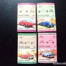 Sellos: NANUMEA TUVALU 1985 COCHES AUTOS VOITURES SERIE 8 VALORES YVERT &TELLIER Nº 2 SG Nº 5 MNH. Lote 74367023