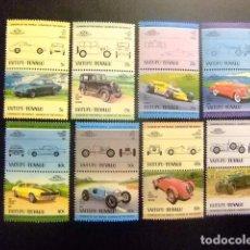 Sellos: VAITUPU TUVALU 1984 COCHES AUTOMOBILES 1ª SERIE YVERT &TELLIER Nº 1 ** SG Nº 1 MNH. Lote 74374775