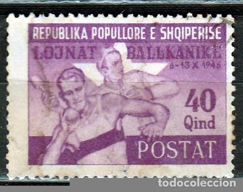 ALBANIA . 1946. JUEGOS DE LOS BALCANES..*.MH ( 17-105 ) (Sellos - Extranjero - Oceanía - Otros paises)