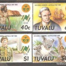 Sellos: TUVALU,1987.. Lote 220982815