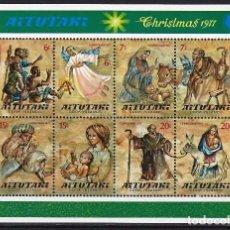 Stamps - AITUTAKI - HOJA NUEVA CON CHARNELA - 90662815