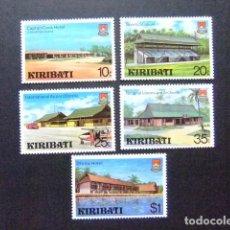 Sellos: KIRIBATI EX GILBERT 1980 TURISMO YVERT N 37 / 41 ** MNH. Lote 90937690