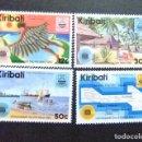 Sellos: KIRIBATI EX GILBERT 1983 DIA DE LA COMMONWEALTH YVERT N 96 / 99 ** MNH . Lote 90941515