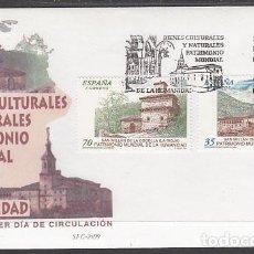 Sellos: ESPAÑA SPAIN 3662/63 AÑO 1999 BIENES CULTURALES Y NATURALES PATRIMONIO MUNDIAL D. Lote 95192978