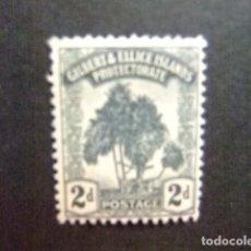 Sellos: GILBERT & ELLICE ISLANDS ISLAS GILBERT Y ELLICE 1911 PANDANUS YVERT N 10 * MH. Lote 95970051