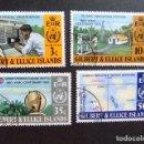 Sellos: GILBERT & ELLICE ISLANDS ISLAS GILBERT Y ELLICE 1973 O.M.M.YVERT N 213 / 16 º FU. Lote 96451271